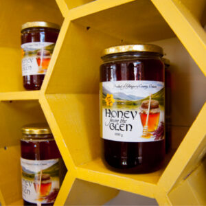 Honey from the Glen (pure, raw and unpasteurized)